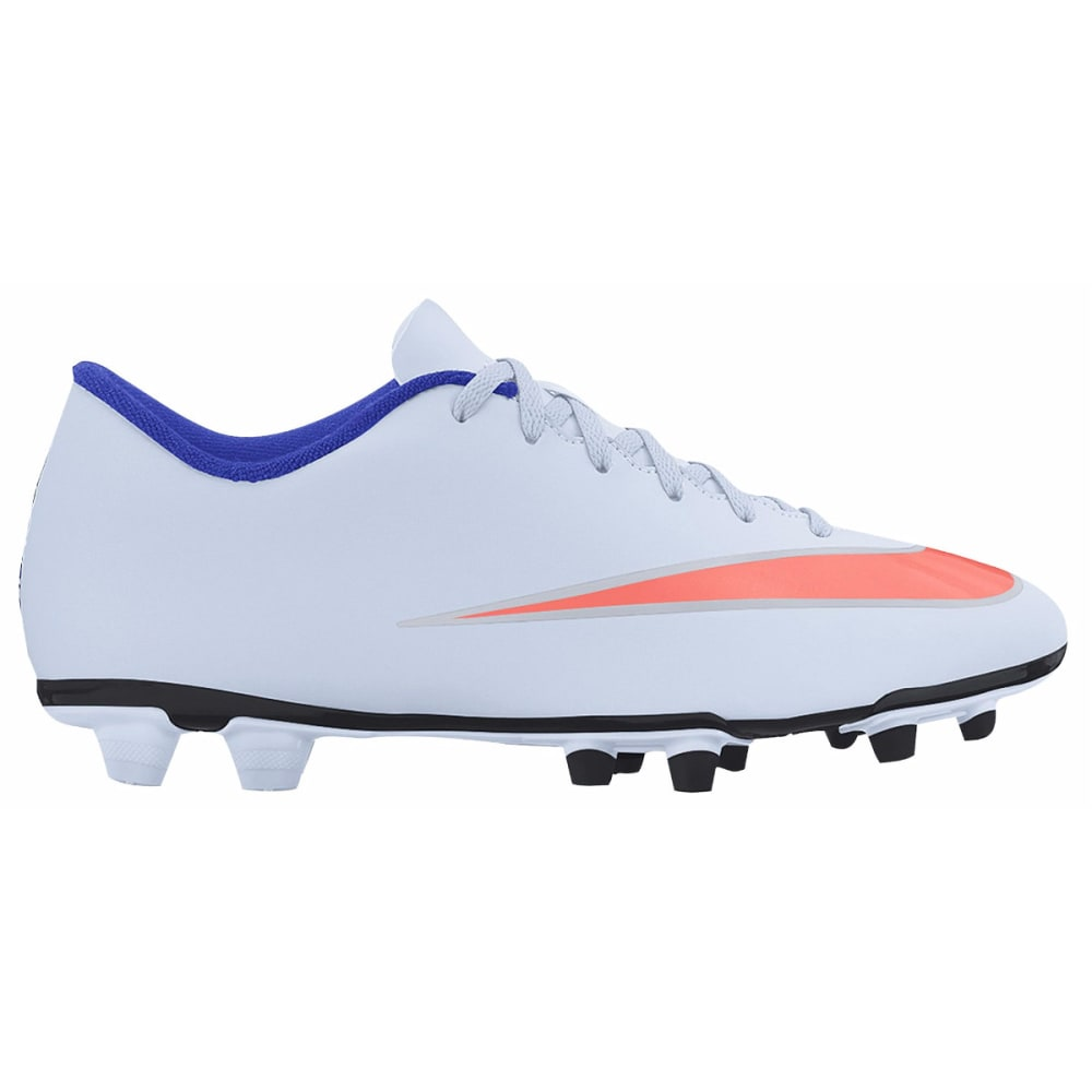 NIKE Women's Mercurial Vortex 2 FG Soccer Cleats - BLUE TINT/RACER BLUE