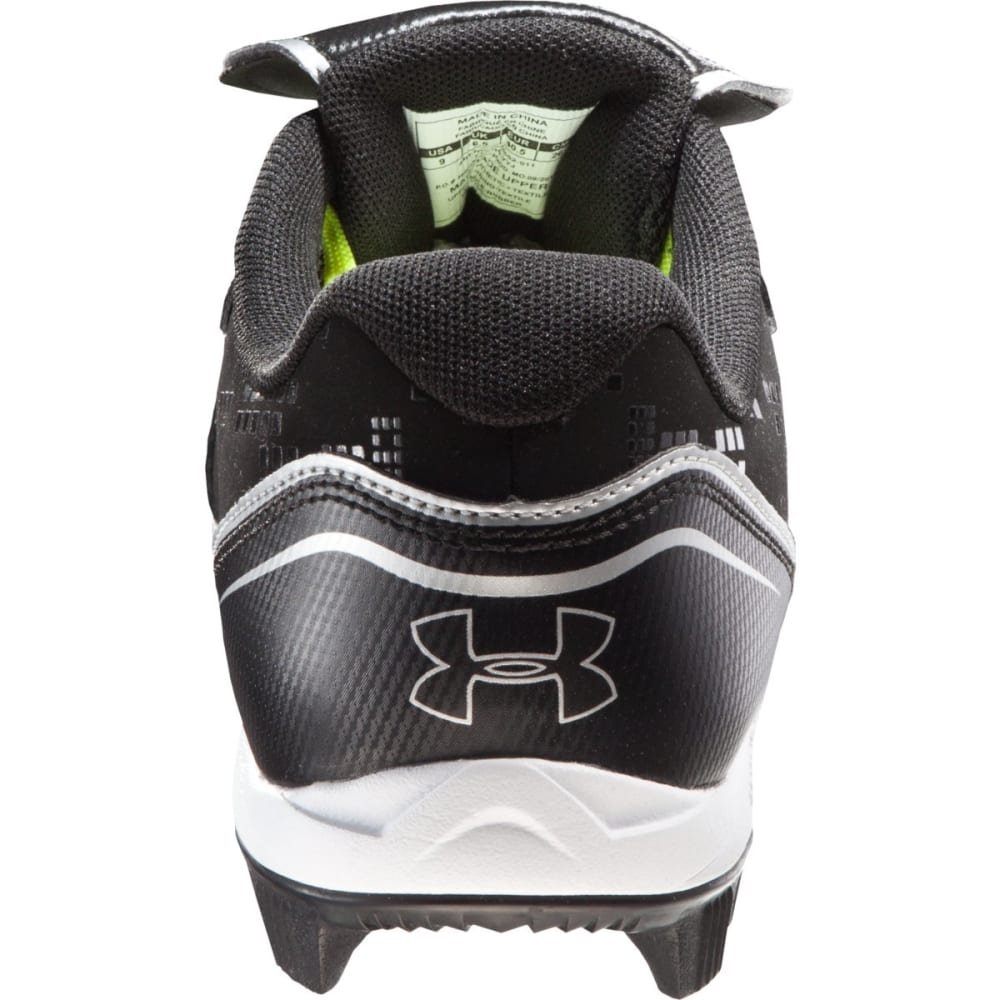 UNDER ARMOUR Women's Glyde RM CC Low Molded Softball Cleats - BLACK/WHITE