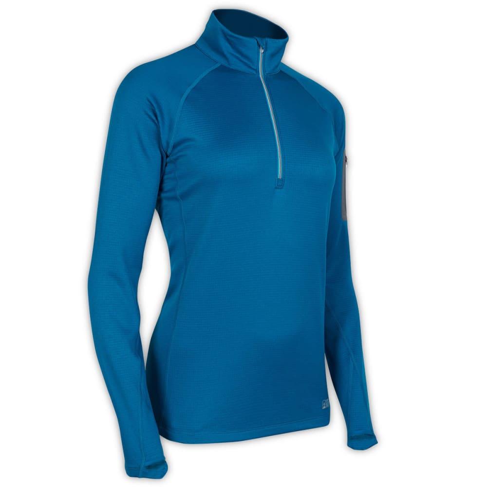 EMS Women's Pursuit 1/2 Zip - PEACOCK BLUE