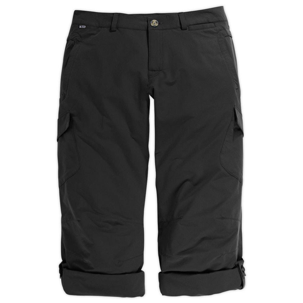 EMS Women's Trailhead Pants, Inseam Options - BLACK