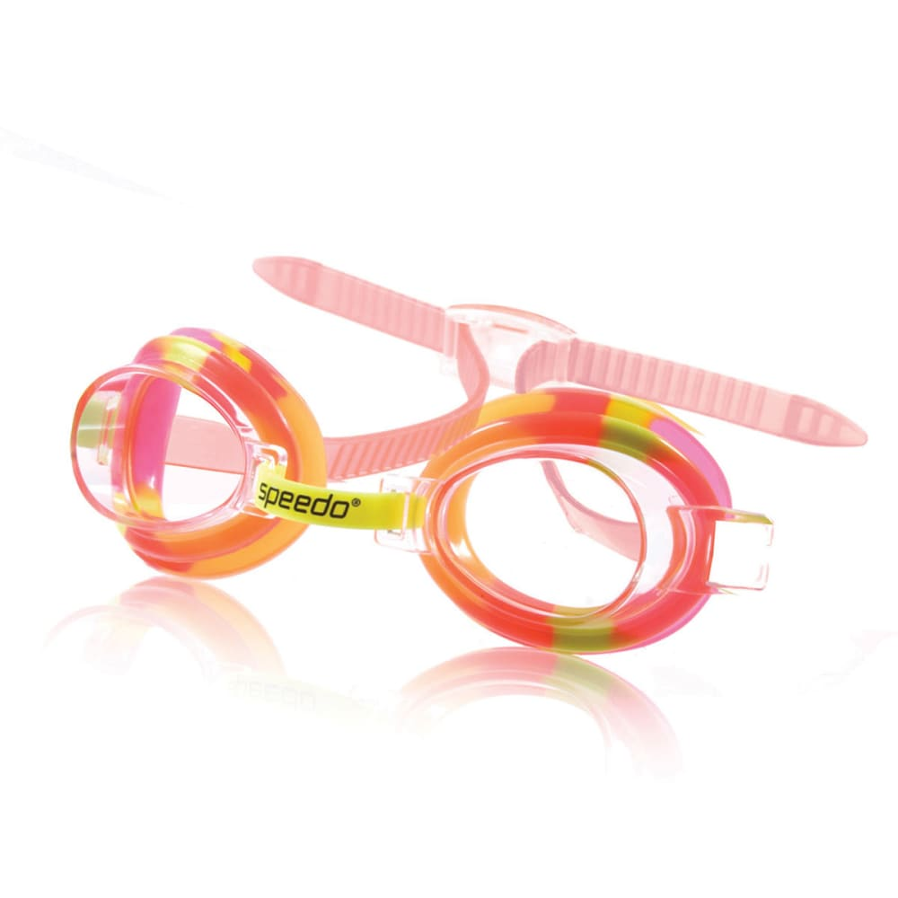 SPEEDO Kids' Tie Dye Goggles - YELLOW