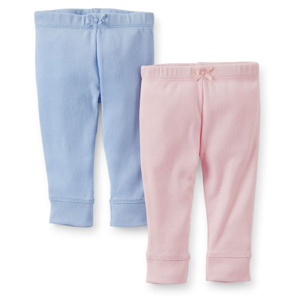 CARTER'S Infant Girls' Pants, 2-Pack  - PINK