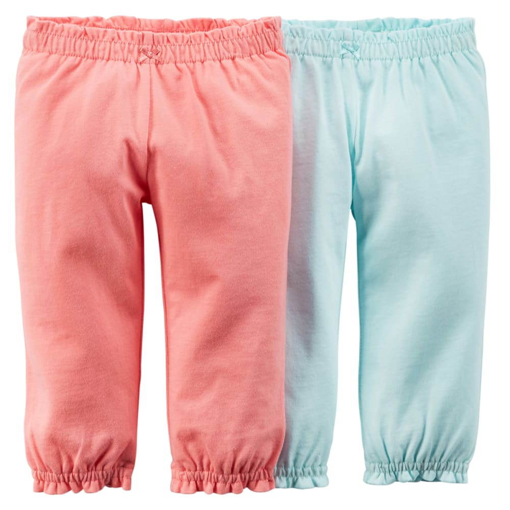 CARTERS Infant Girls' Essential 2-Pack Pants - PINK
