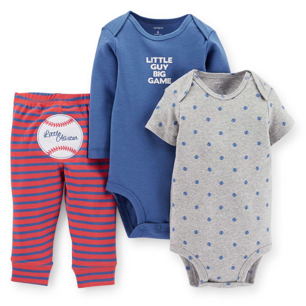 CARTERS Infant Boys' 3-Piece Baseball Set - BLUE
