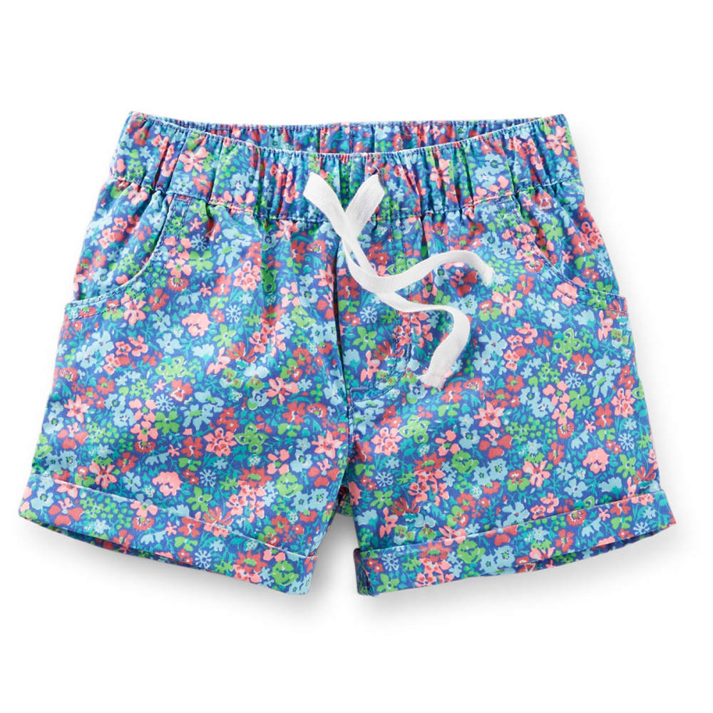 CARTER'S Toddler Girls' Floral Printed Woven Shorts - FLORAL