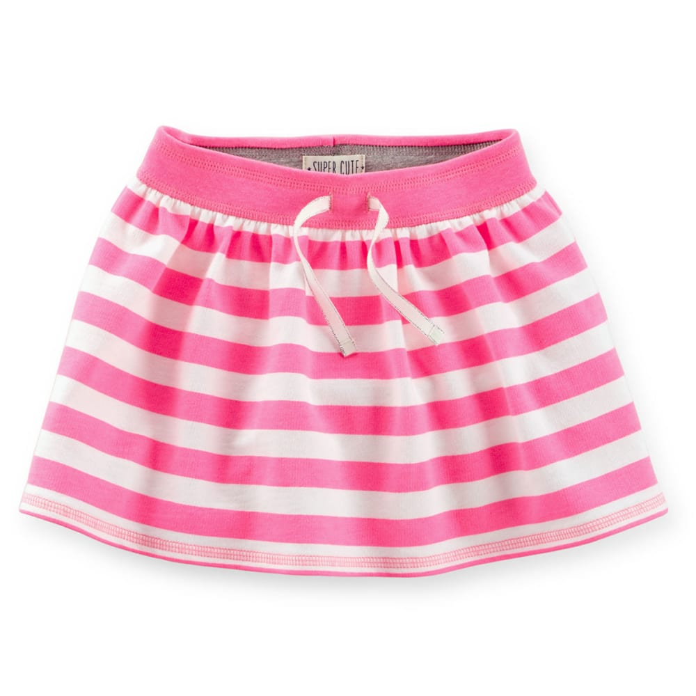 CARTER'S Toddler Girls' French Terry Scooter Skirt - PINK
