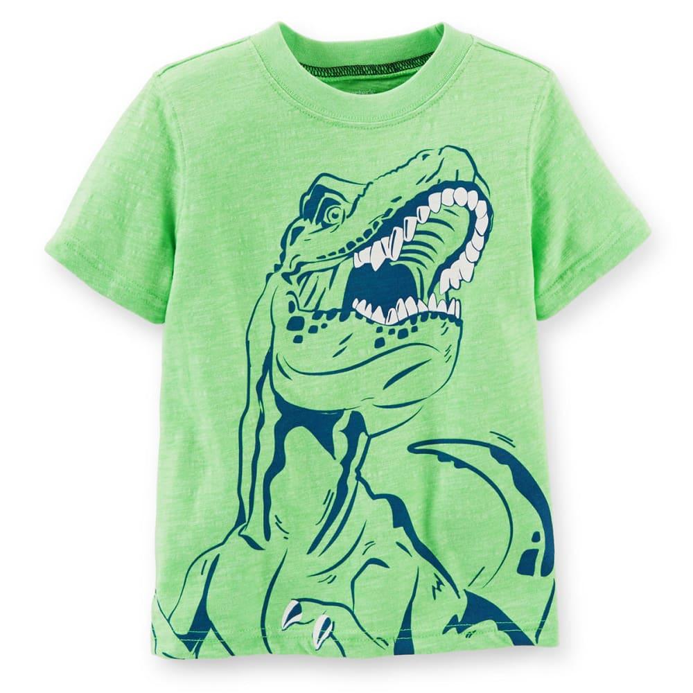 CARTER'S Toddler Boys' Dinosaur Graphic Tee, Green - GREEN