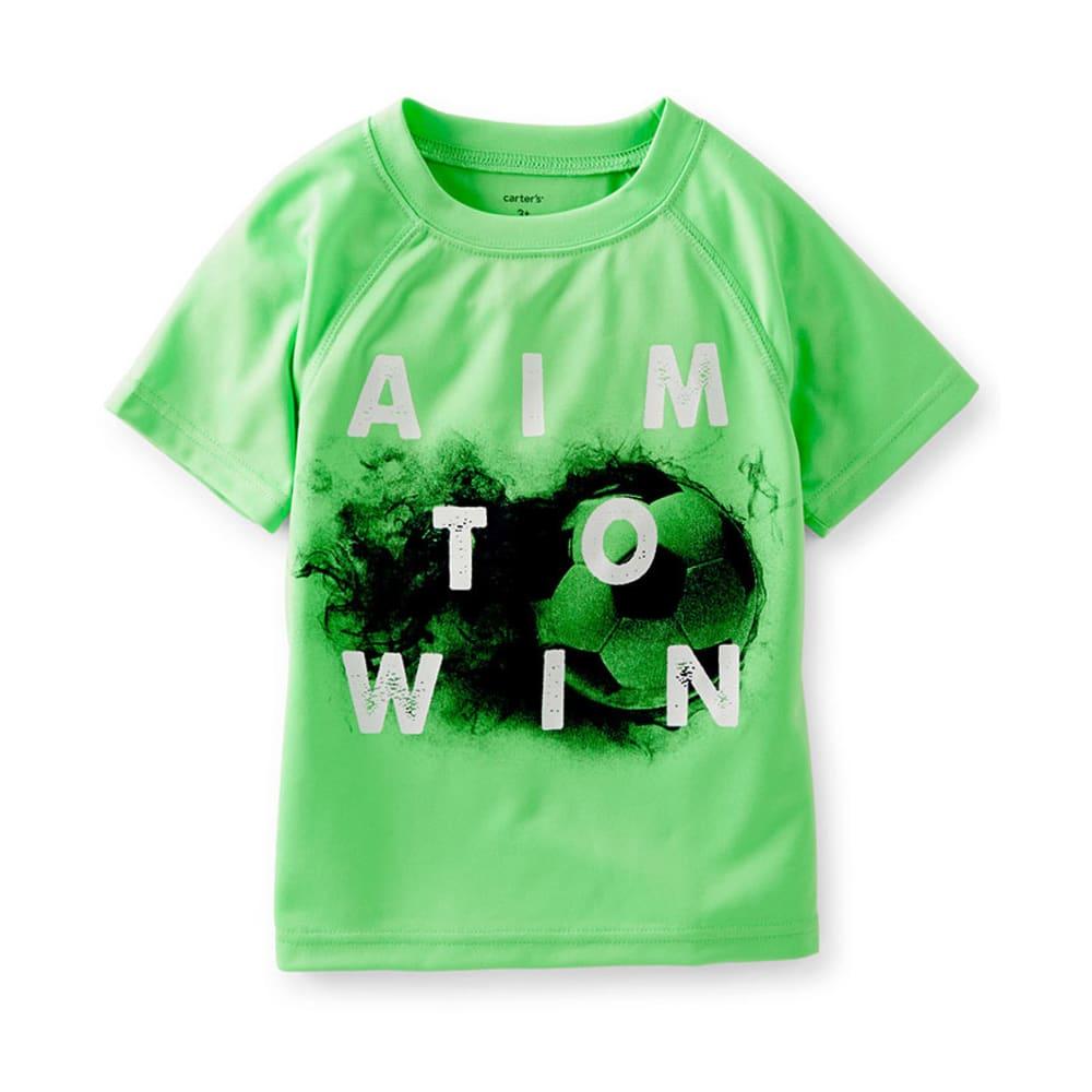 CARTER'S Toddler Boys' Aim To Win Tee, Green - GREEN