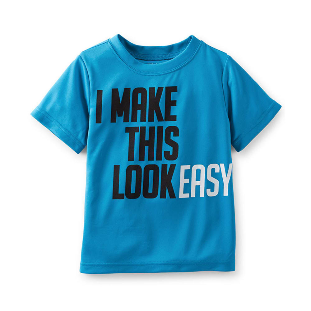 CARTER'S Toddler Boys' I Make This Look Easy Tee, Blue  - BLUE
