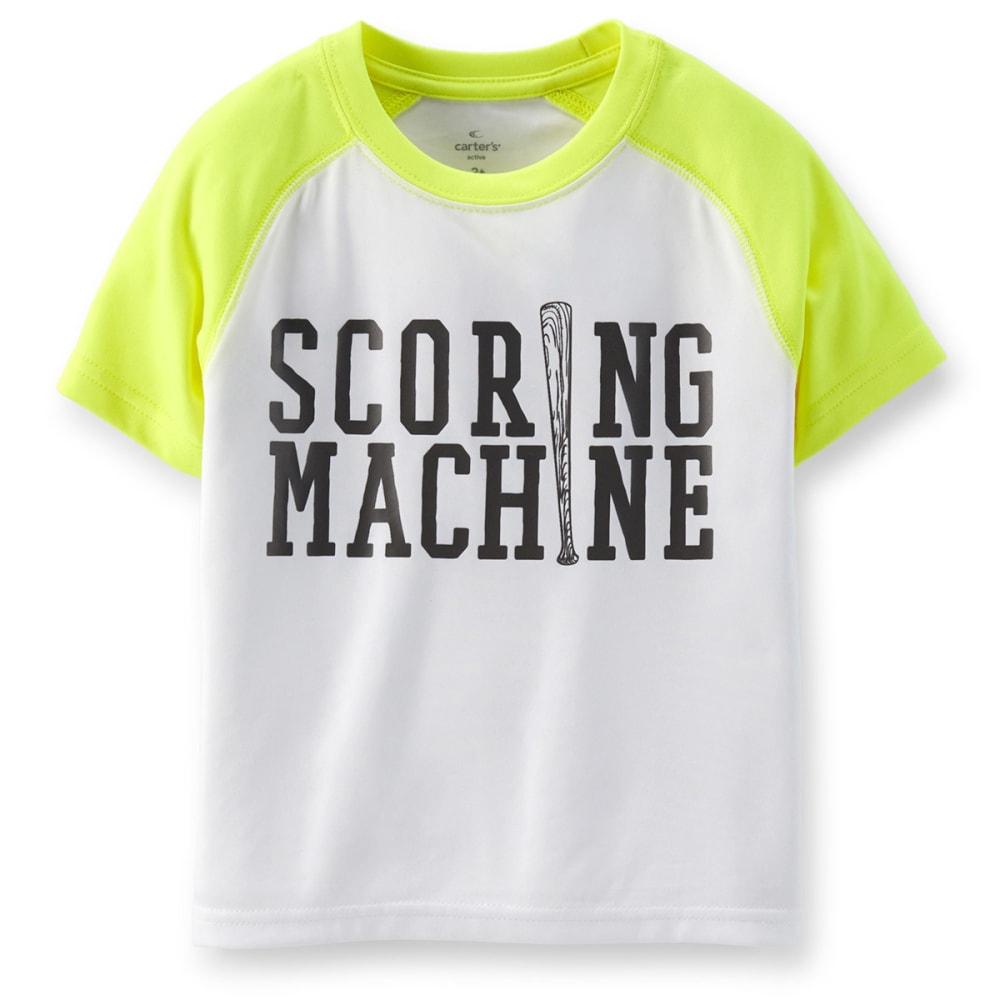 CARTERS Toddler Boys' Scoring Machine Active Tee - WHITE
