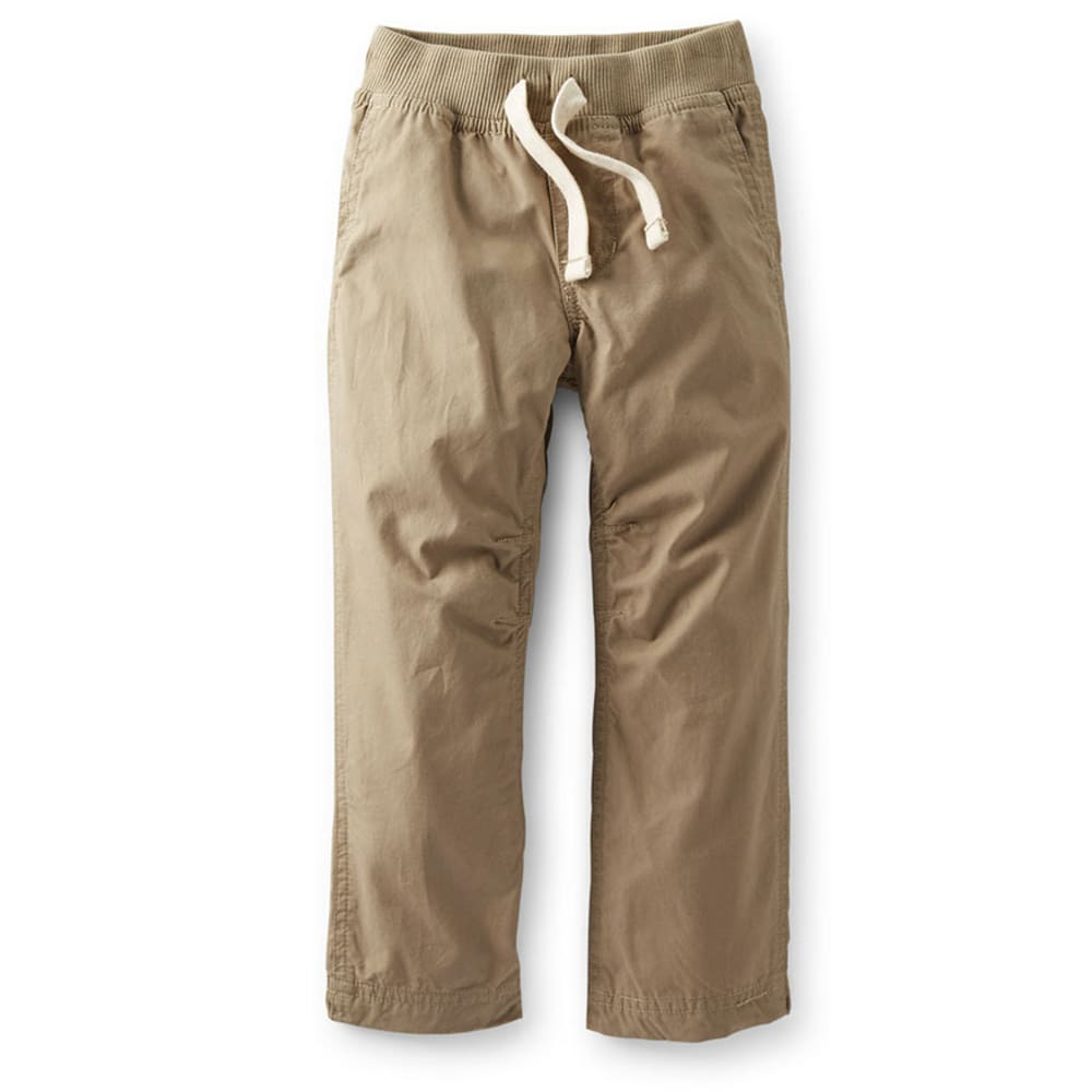 CARTER'S Toddler Boys' Woven Pants, Khaki  - KHAKI