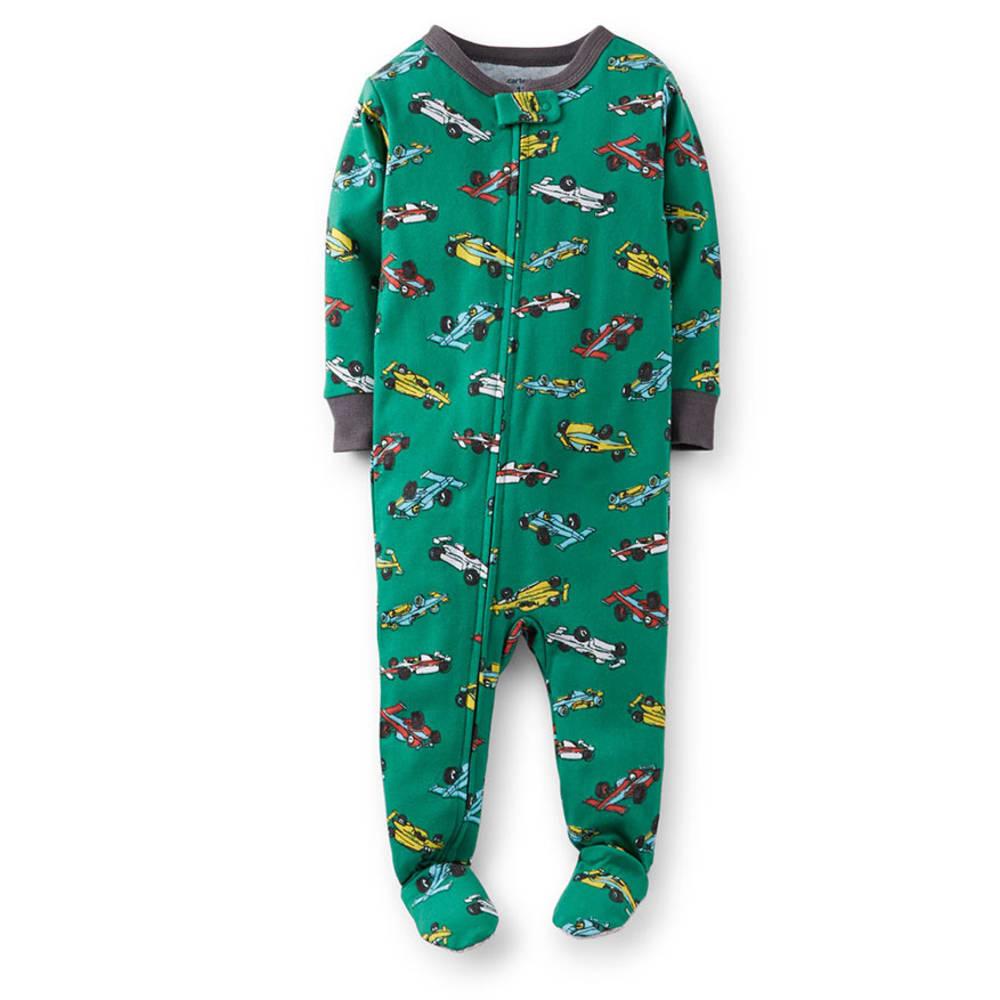 CARTER'S Infant Boys' Race Car Print Cotton Sleepwear - VALUE DEAL - PRINT