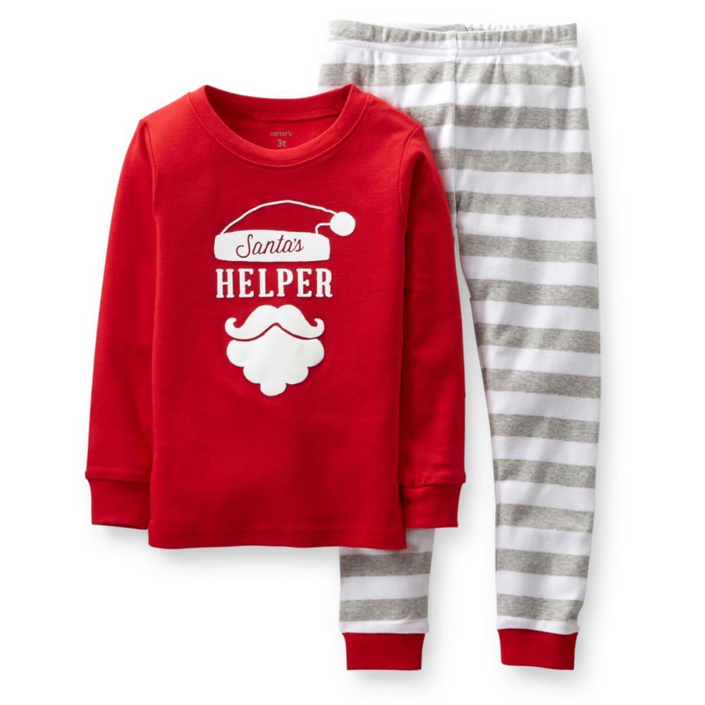 CARTER'S Toddler Boys' 2-Piece Snug Fit Cotton PJs - STRIPES