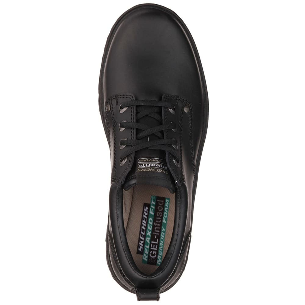 SKECHERS Men's Relaxed Fit: Segment—Rilar Shoes - BLACK