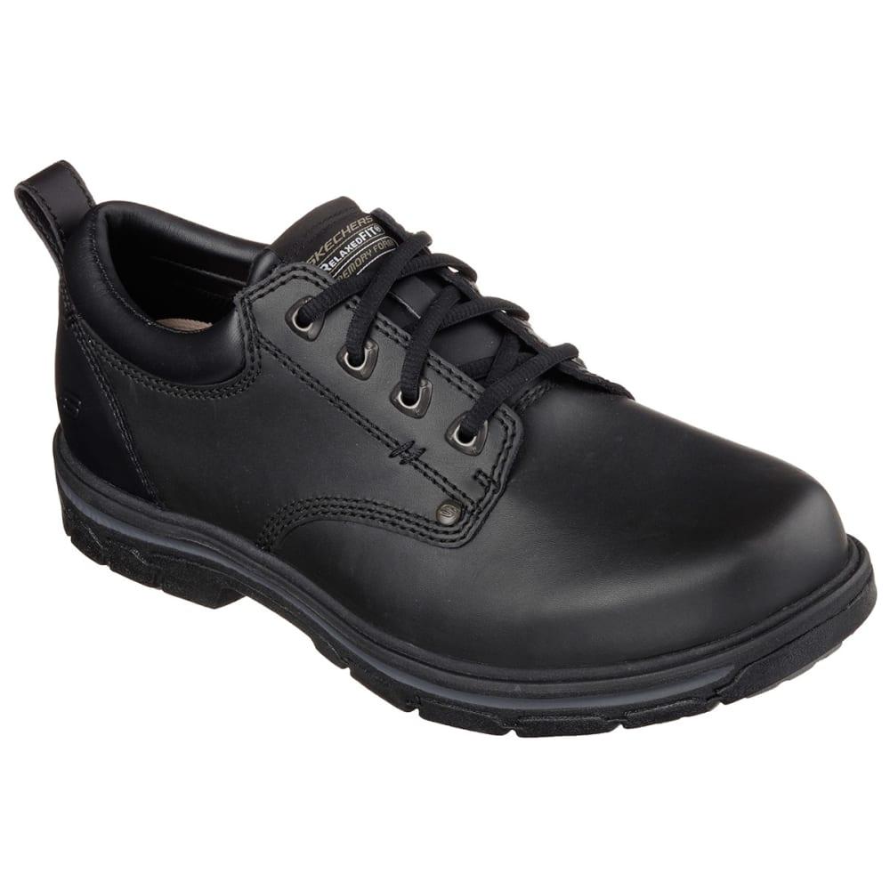 "Skechers Men's Relaxed Fit: Segment ""Rilar Shoes - Black, 8"