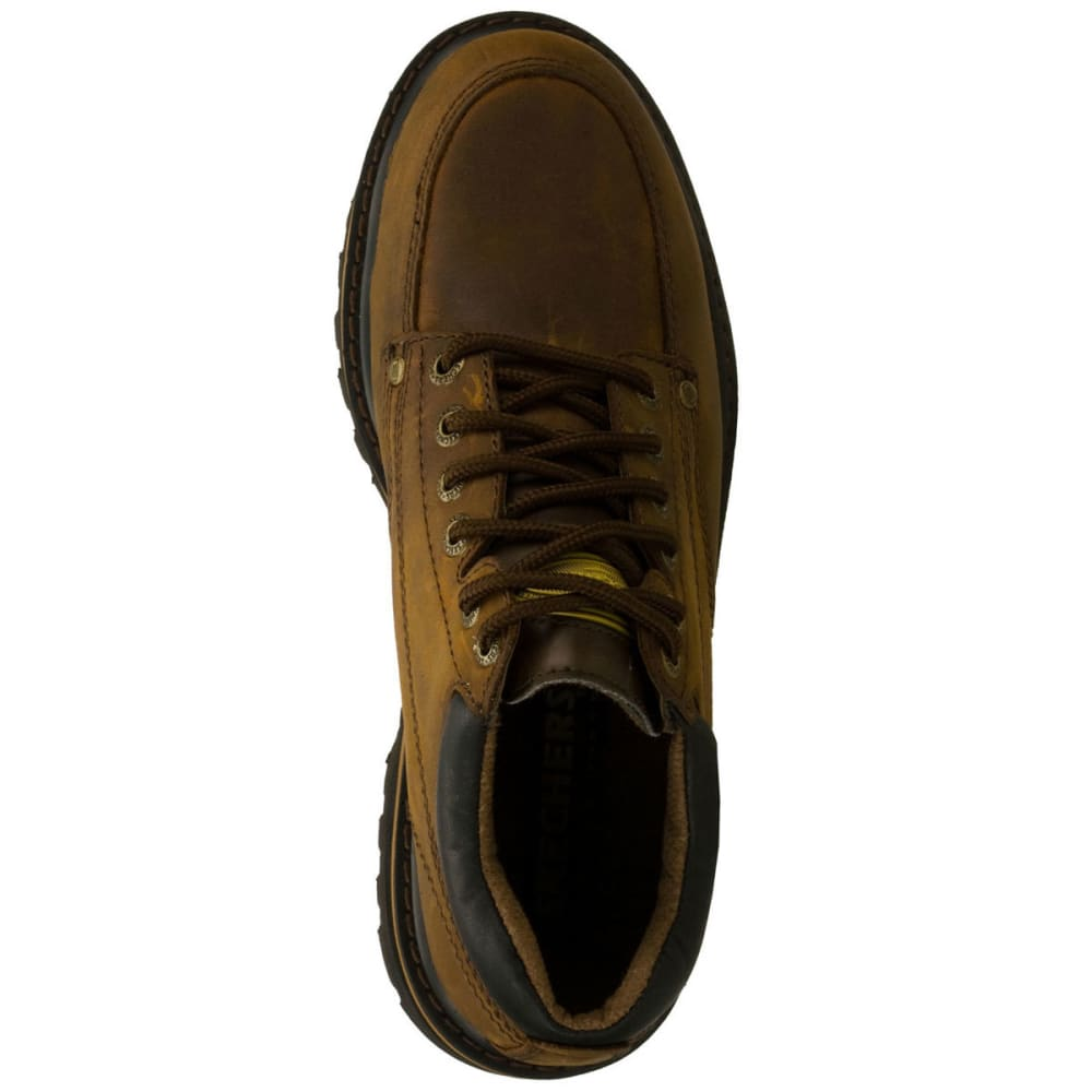 SKECHERS Men's Mariners Shoes, Dark Brown - DARK BROWN