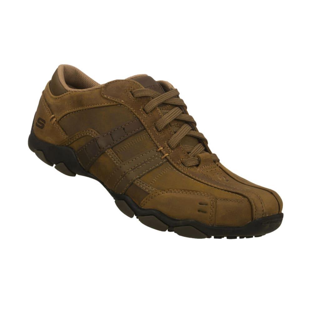 SKECHERS Men's Diameter Vassell Sport Casual Shoes - BROWN