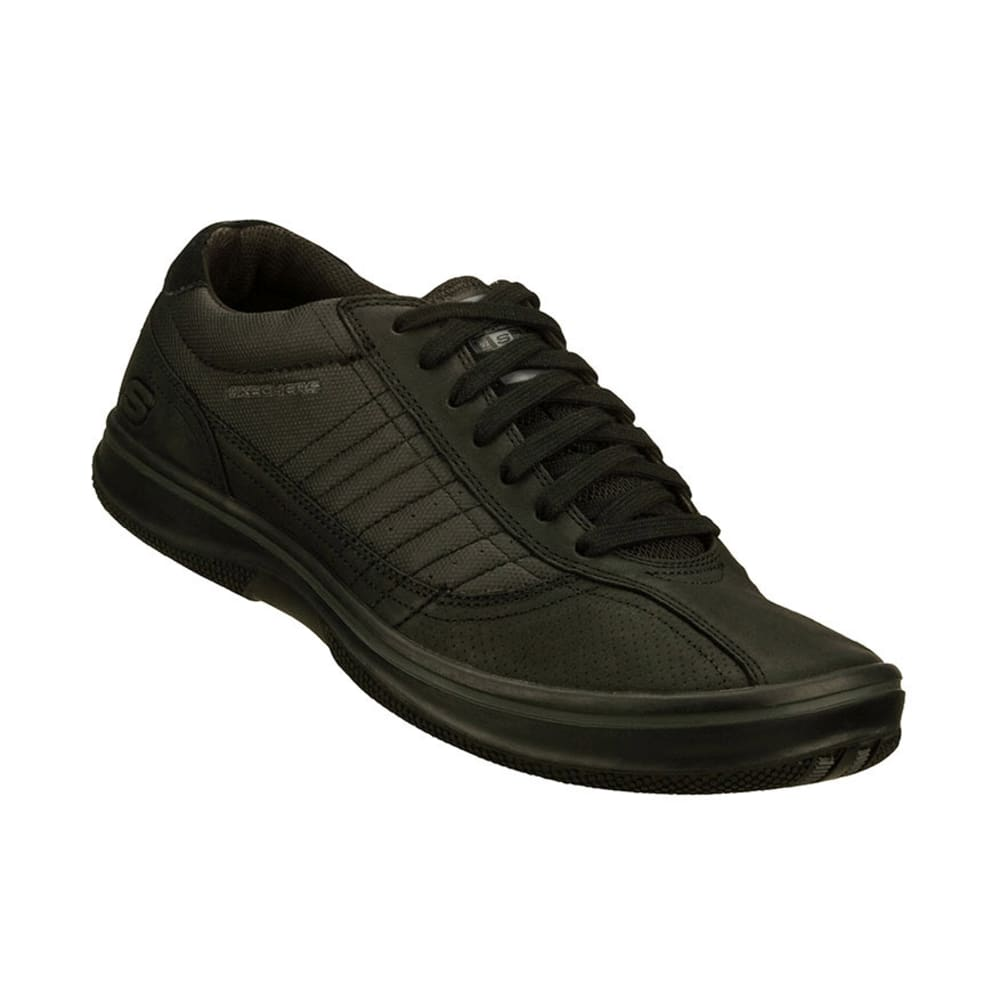 SKECHERS Men's Piers Sneakers - BLACK