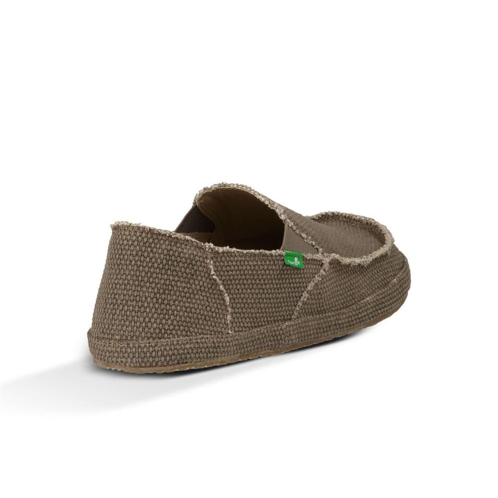 SANUK Men's Rounder Shoes - BROWN