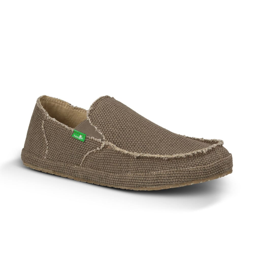 SANUK Men's Rounder Shoes - BROWN