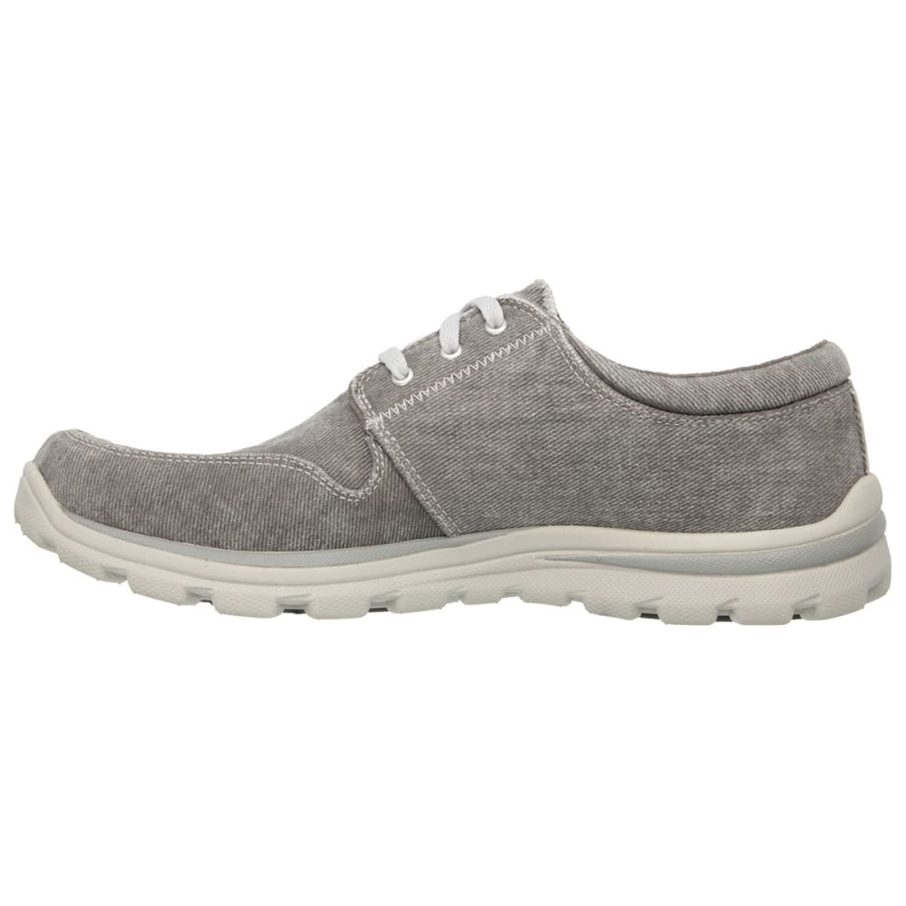 SKECHERS Men's Relaxed Fit: Superior – Elvin - CHARCOAL