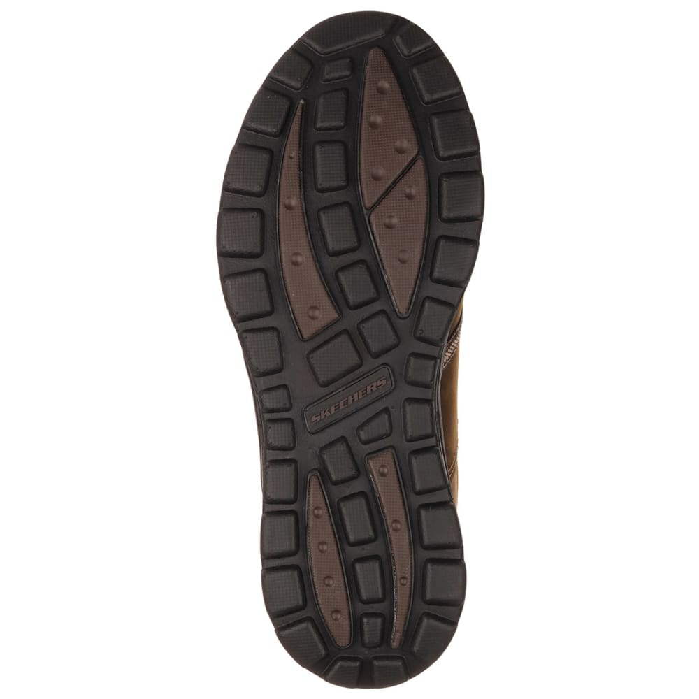 SKECHERS Men's Relaxed Fit: Superior Levoy Lace-Up Shoes - BROWN