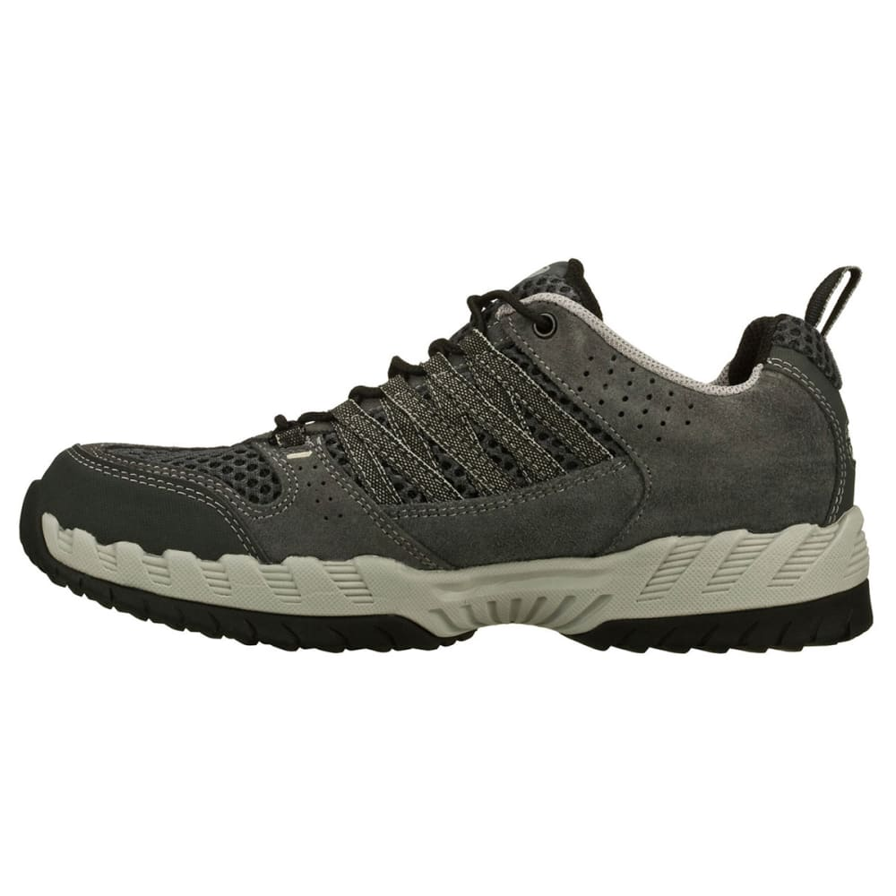 SKECHERS Men's Outland Hiking Shoes - BLACK DISTRESSED