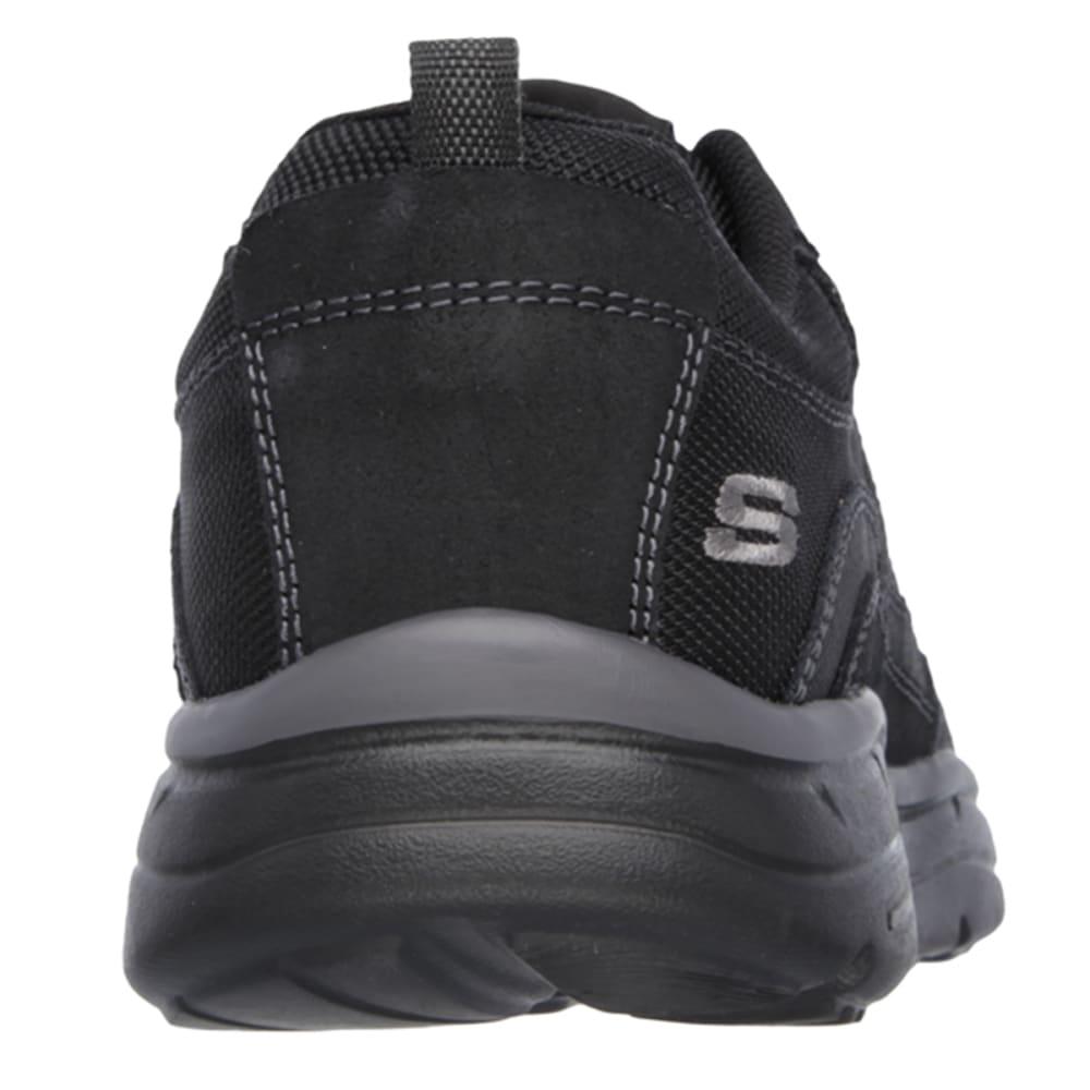 SKECHERS Men's Relaxed Fit: Glides - Ellison Shoes - BLACK