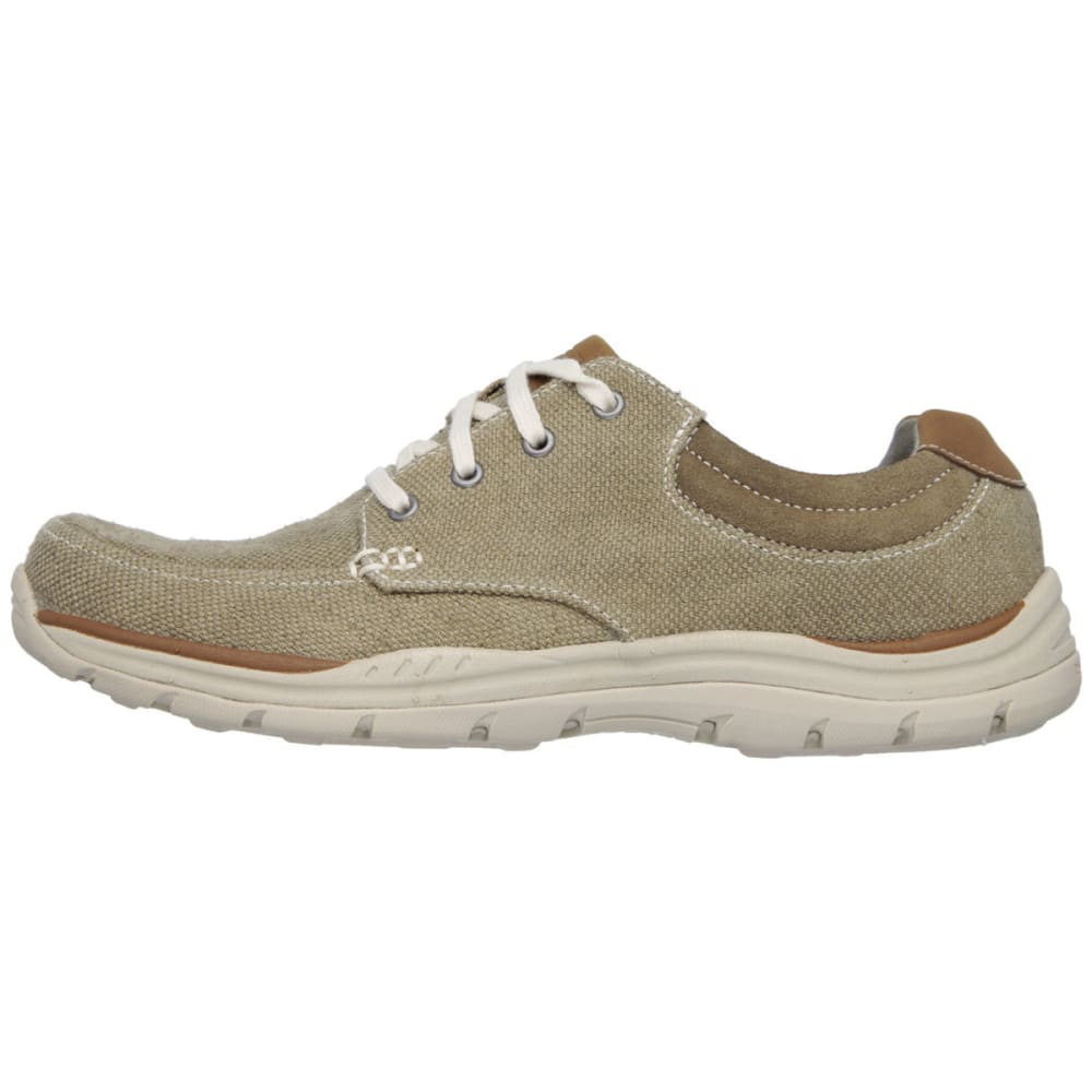 SKECHERS Men's Relaxed Fit: Expected – Orman Shoes - KHAKI