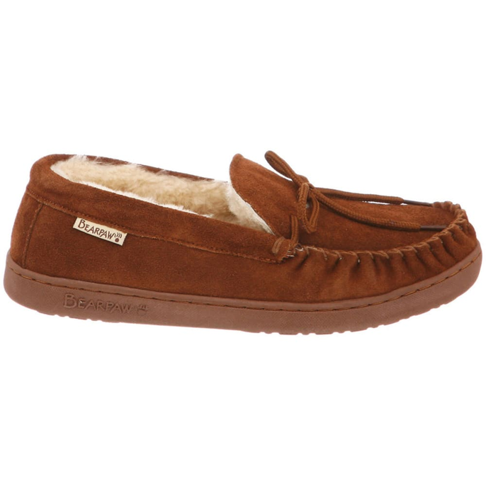 BEARPAW Men's Moc II Slippers - HICKORY
