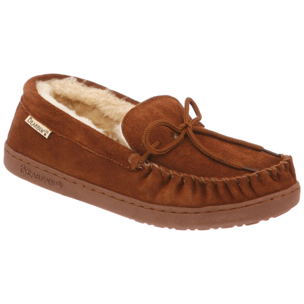 Bearpaw Men's Moc Ii Slippers - Brown, 8