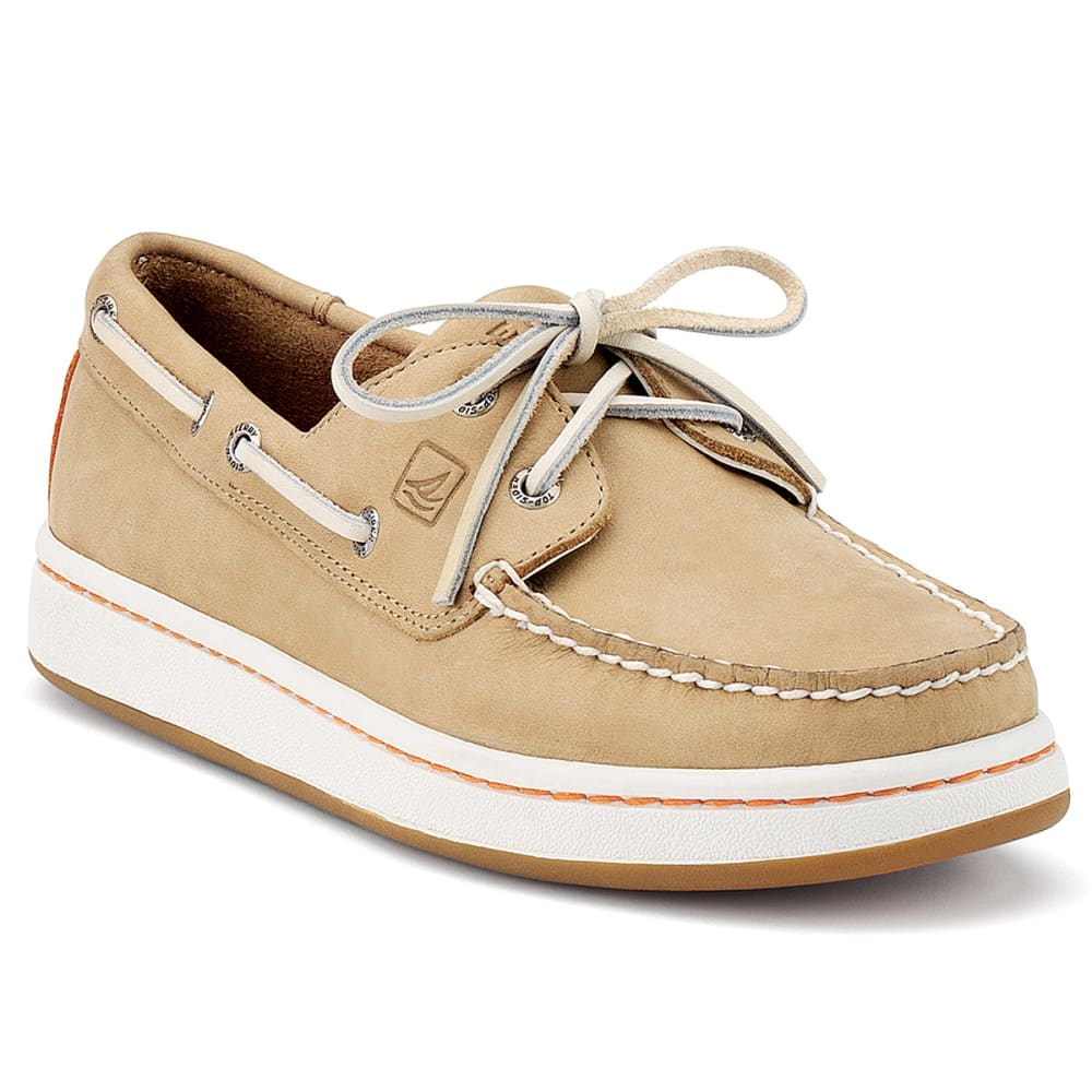 SPERRY Young Men's Cup 2-Eye Boat Sneakers - OATMEAL