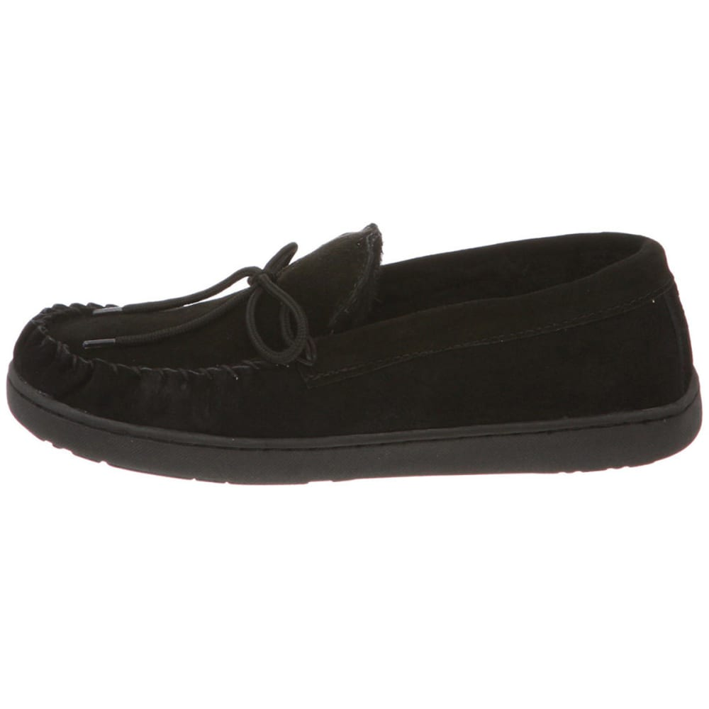 BEARPAW Men's Moc II Slippers - BLACK