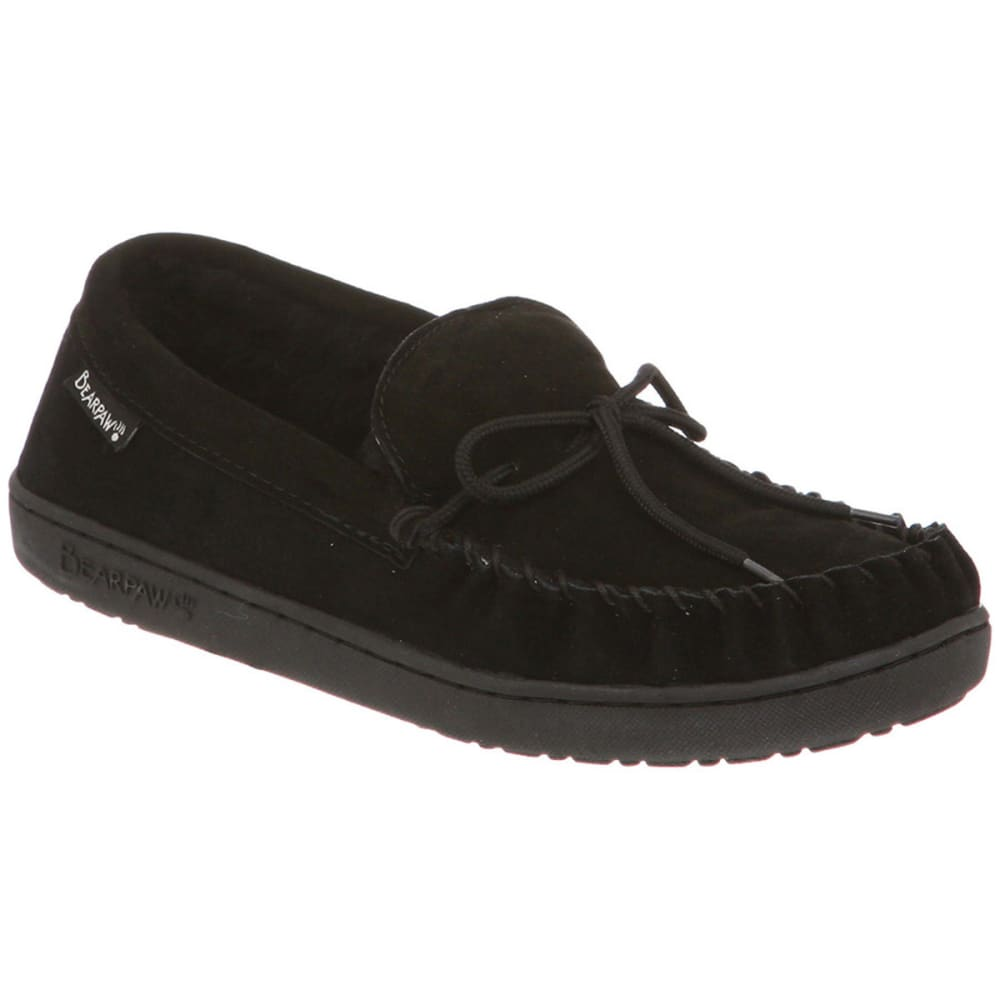 Bearpaw Men's Moc Ii Slippers - Black, 8