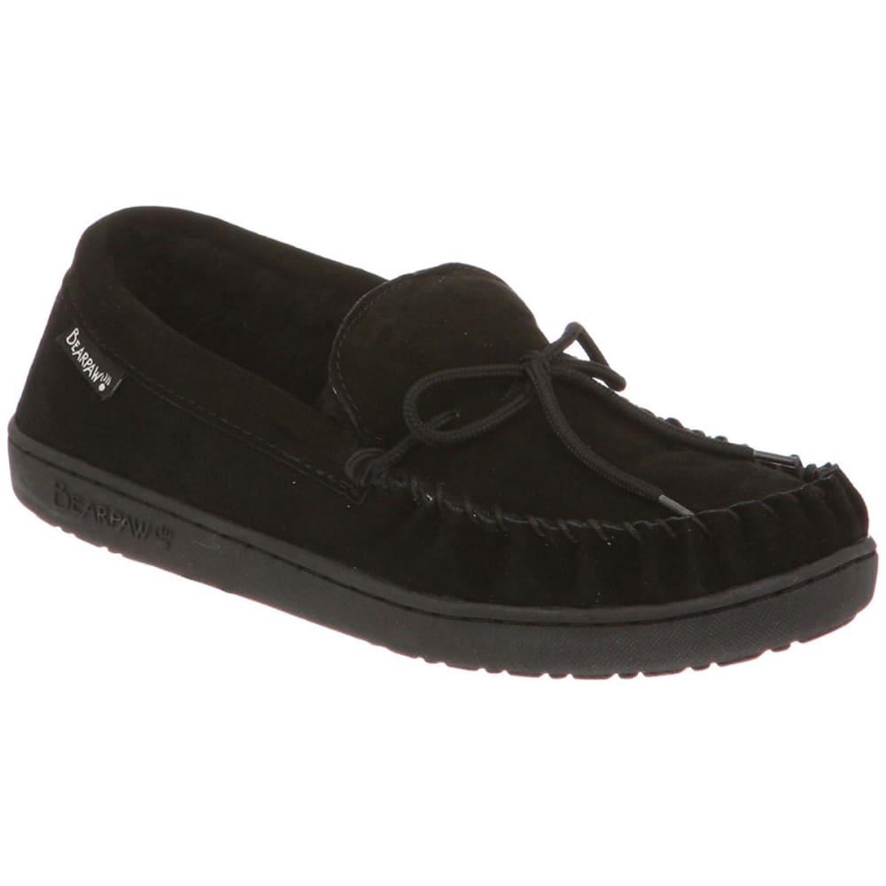 BEARPAW Men's Moc II Slippers - BLACK