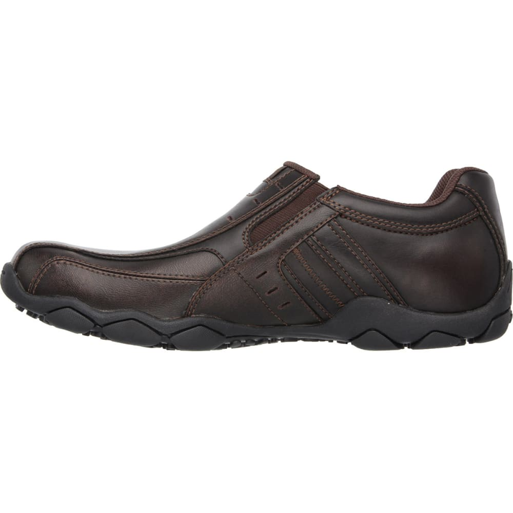 SKECHERS Men's Diameter – Nerves Slip On Shoes - BROWN