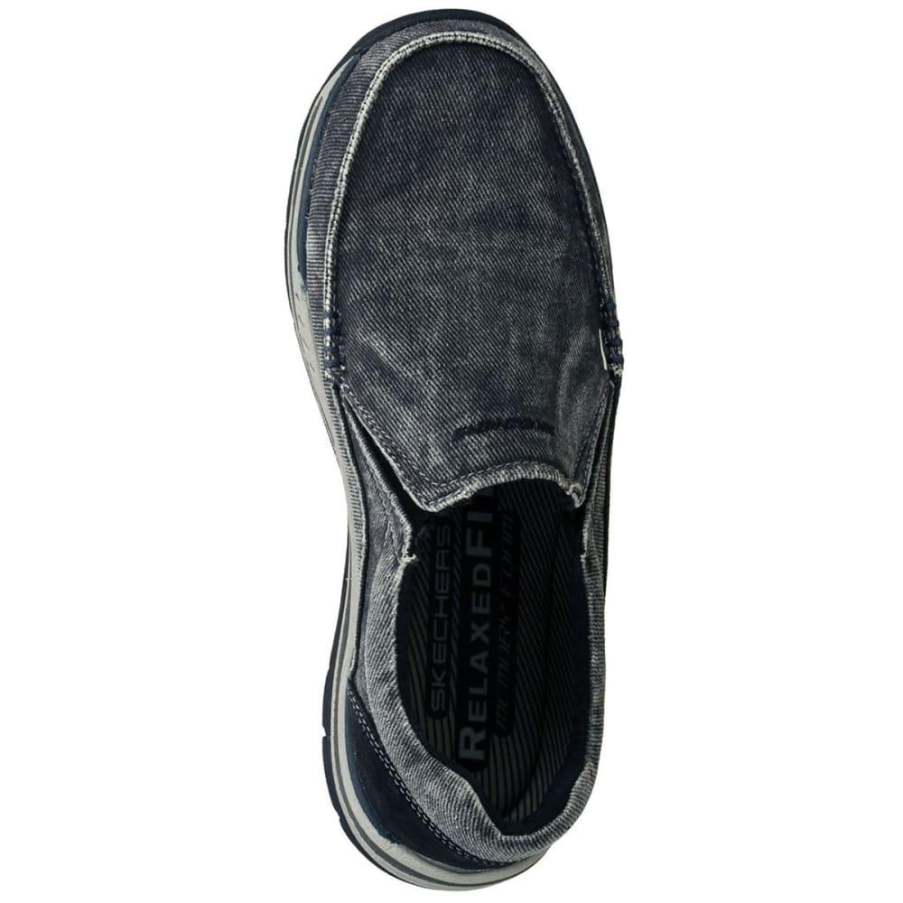 SKECHERS Men's Relaxed Fit: Expected – Avillo - BLACK