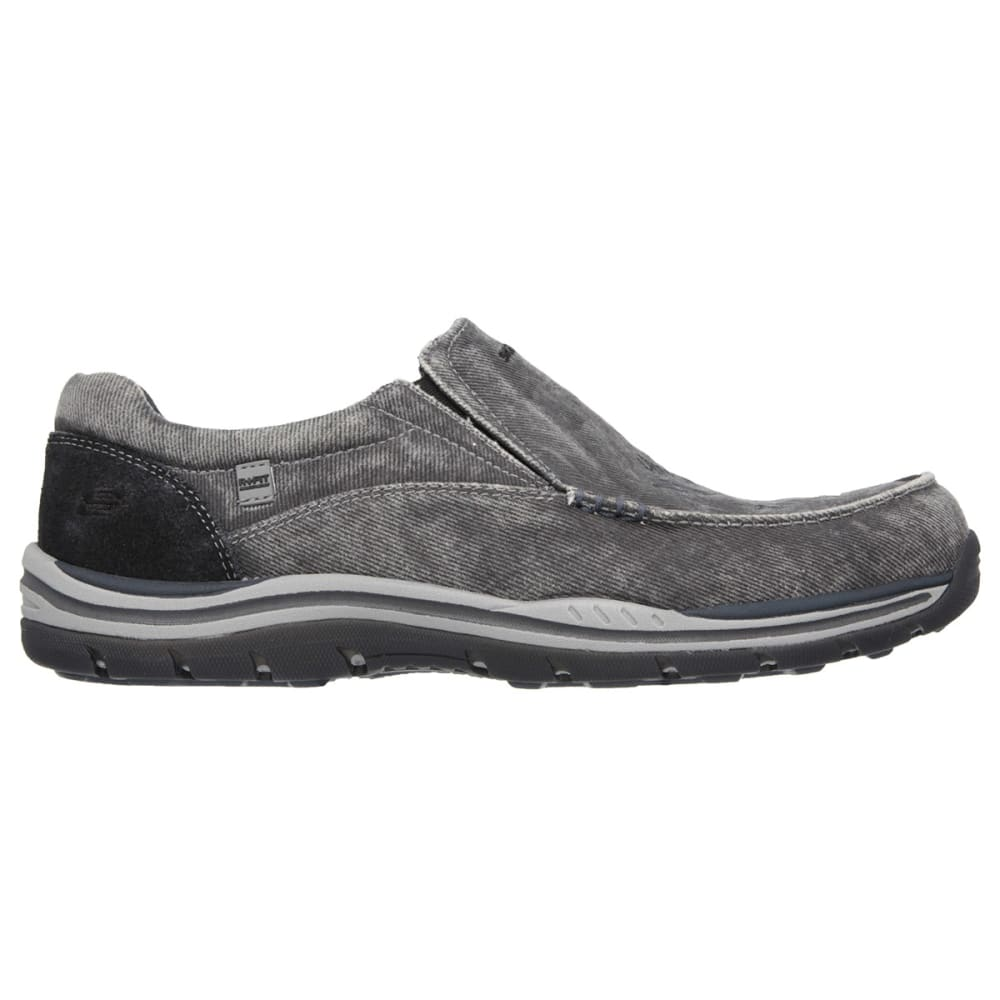 SKECHERS Men's Relaxed Fit: Expected – Avillo - BLACK