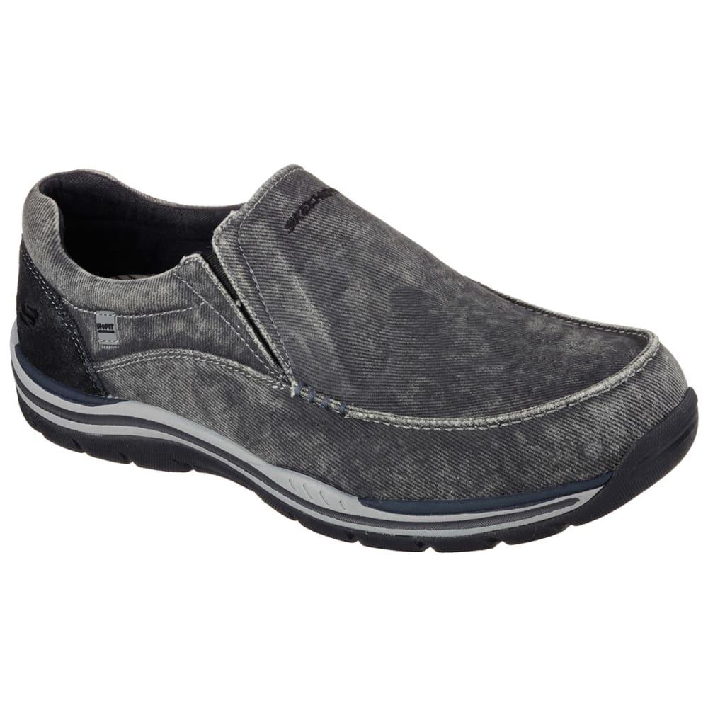 Skechers Men's Relaxed Fit: Expected - Avillo - Black, 8