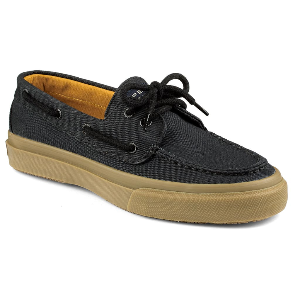 SPERRY Men's Bahama 2 Eye Honey Wall Boat Shoes - SLATE BLACK HEATHER