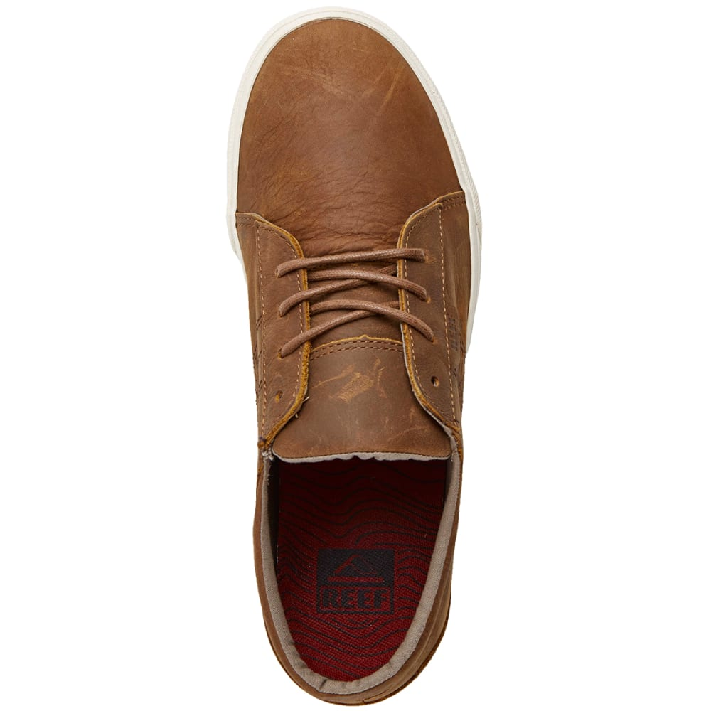 REEF Men's Ridge Lux Shoes - CHOCOLATE