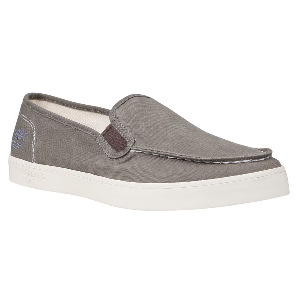 TIMBERLAND Men's Newport Bay Canvas Slip-On Shoes - TAN