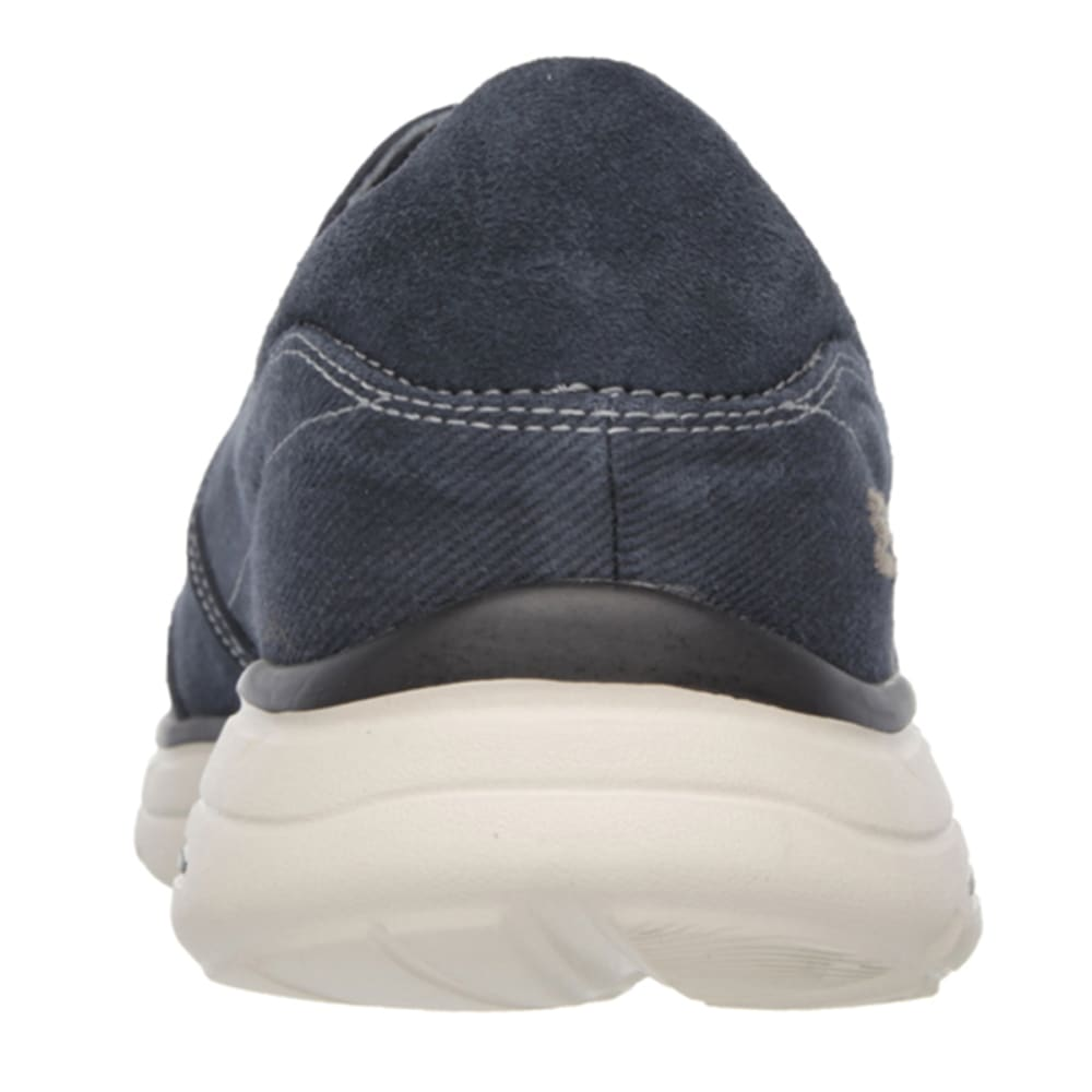 SKECHERS Men's Relaxed Fit: Glides - Adamant Slip On Shoes - NAVY
