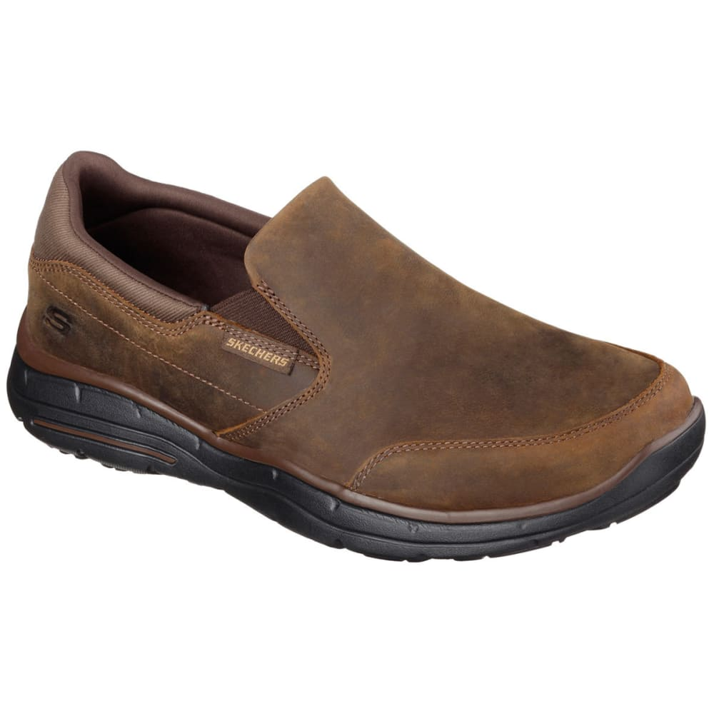 Skechers Men's Relaxed Fit: Glides -  Calculous Shoes - Brown, 8