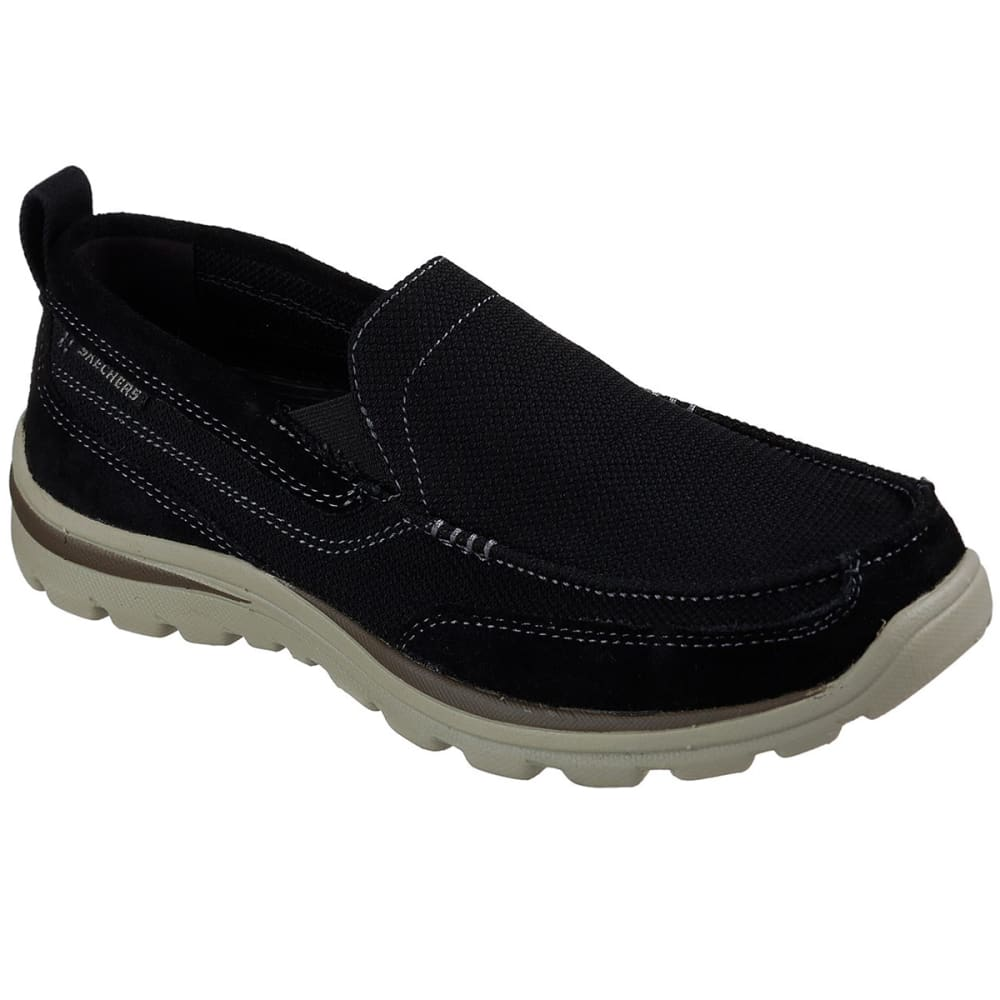 SKECHERS Men's Relaxed Fit: Superior- Milford Slip-On Shoes 8