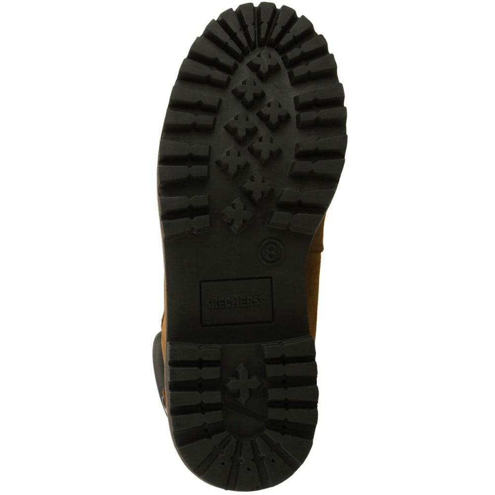 SKECHERS Men's Verdict Waterproof Boots, Wide - BROWN