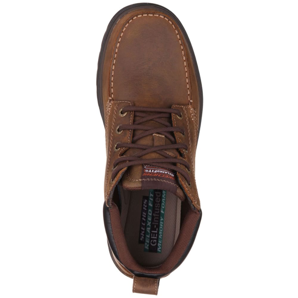 SKECHERS Men's Relaxed Fit: Segment-Barillo Boots - BROWN