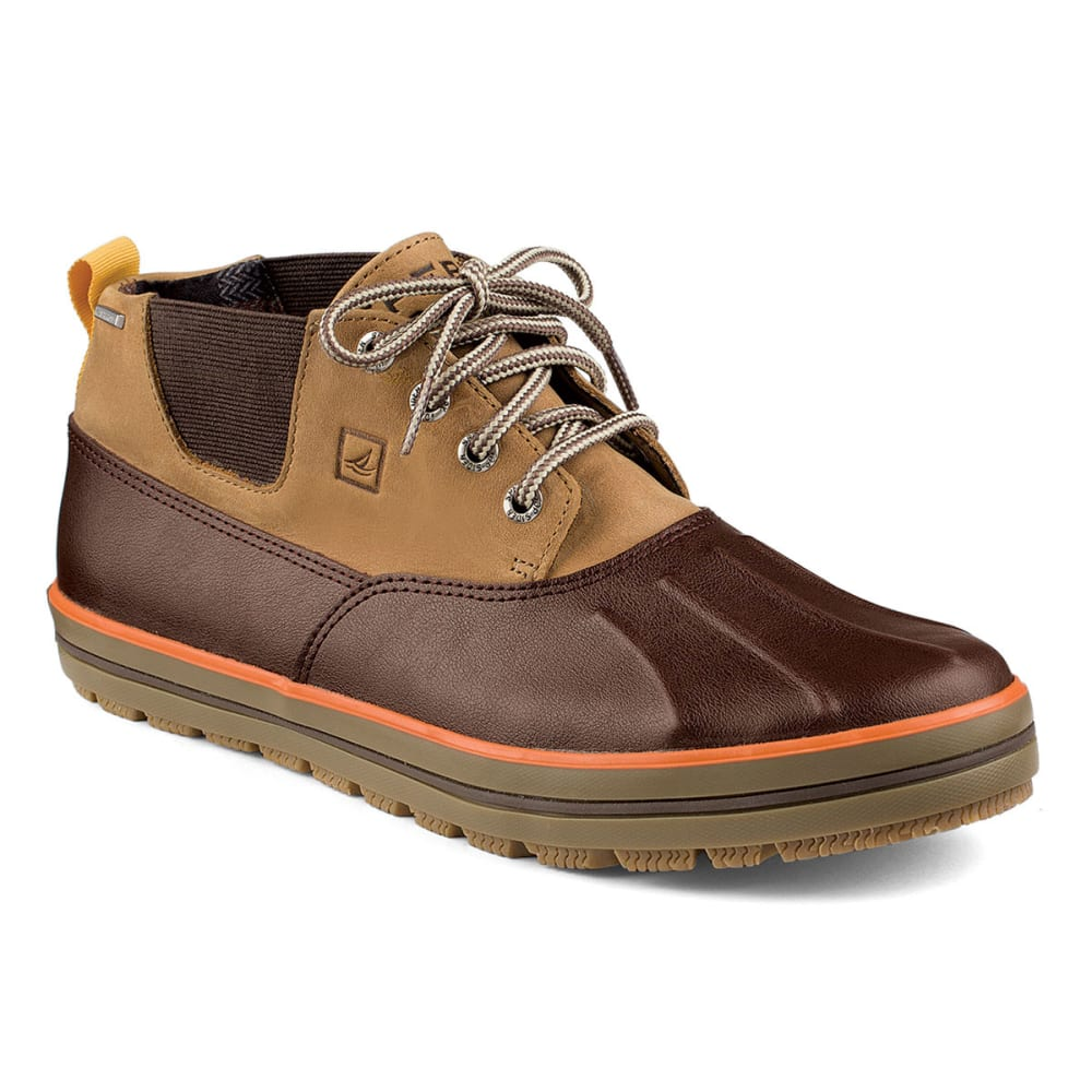 SPERRY Men's Fowl Weather-Duck Boots - BROWN/TAN