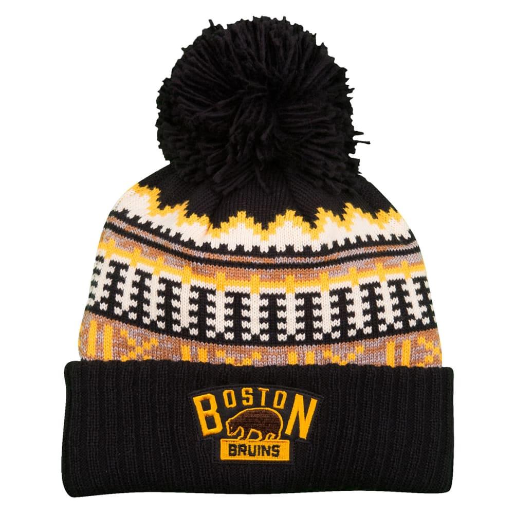 BOSTON BRUINS Women's 2016 Winter Classic Cuffed Pom Knit Hat - ASSORTED