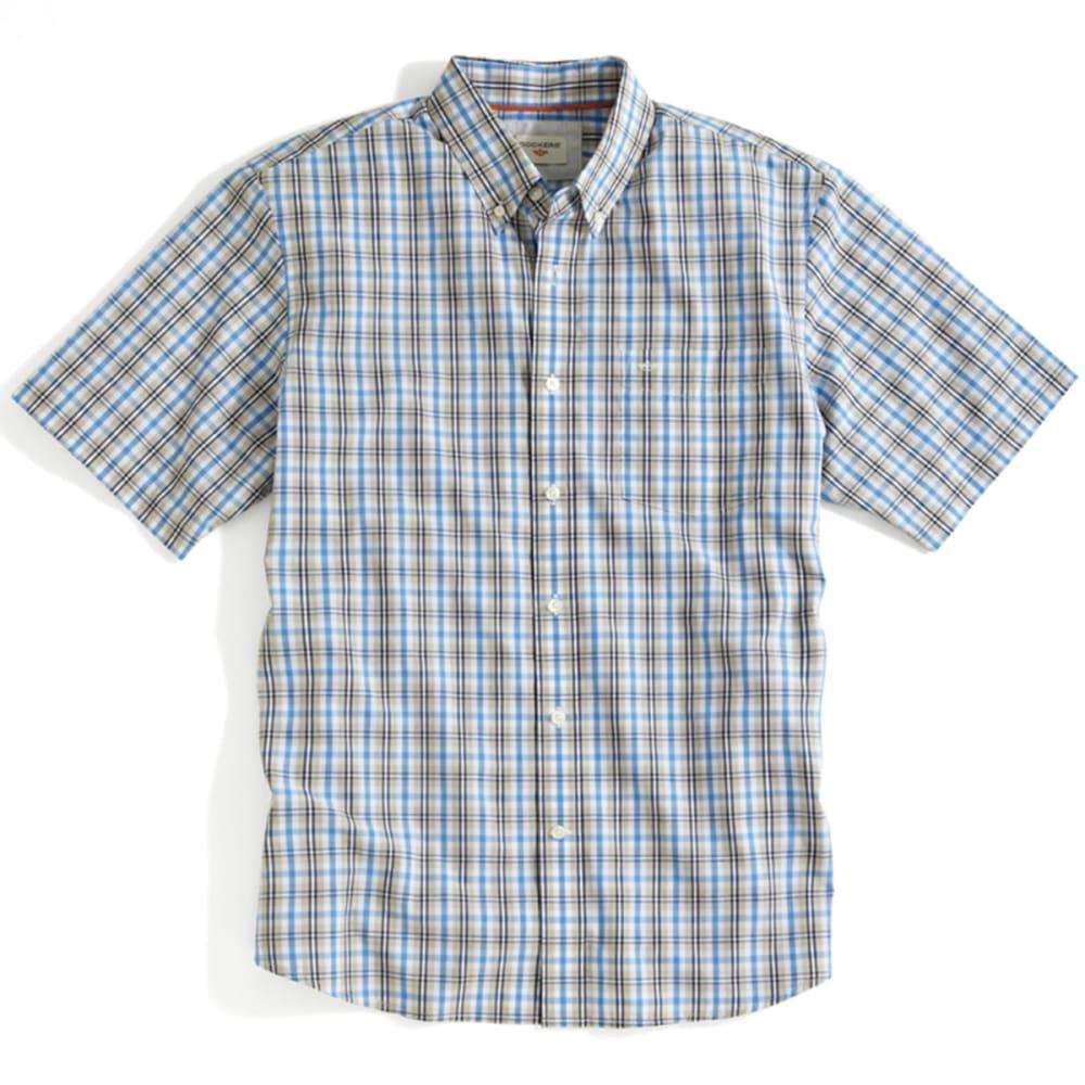 DOCKERS Men's Plaid Shirt - SHORELINE